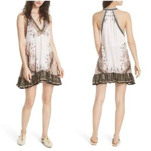 Free People Steal The Sun Printed Shift Dress